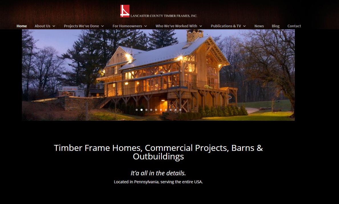 Timber Frames Case Study - Lake Development Group